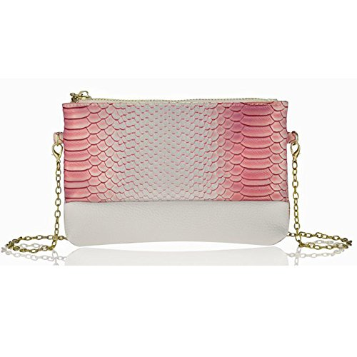 Quilted Leather Clutch Bag - 9