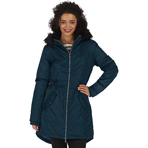Cazadora térmica e impermeable para mujer, modelo Lucetta de Regatta Majolica Blue