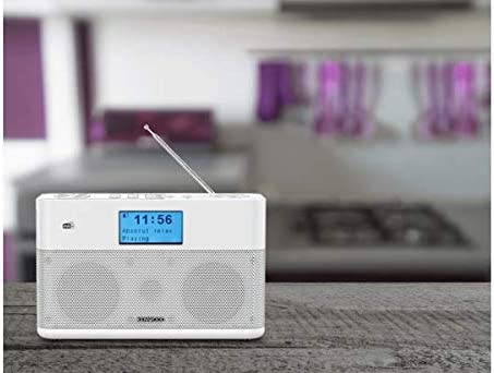 Kenwood Cr St50dab W Stereo Kompaktradio Dab Ukw Bluetooth Line In Kopfhöreranschluss Weckfunktion Farbe Weiß Heimkino Tv Video