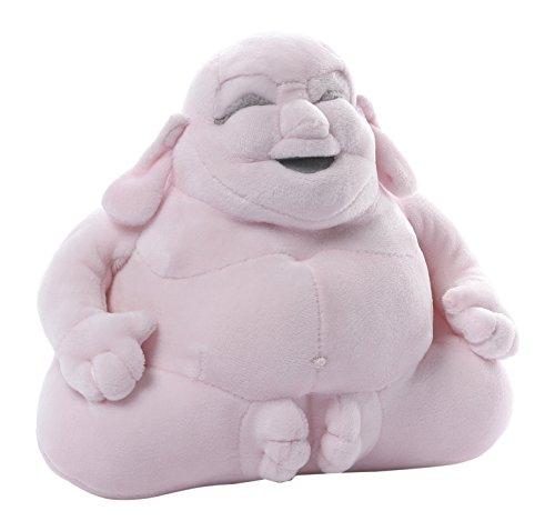 GUND Huggy Buddha Pink Plush, 7.5 inches (Buddha Doll)