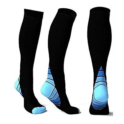 Hot Sale!!! Men Women Compression Socks, Jushye Athletic Socks Fit for Running Socks Travel Boost Stamina Football Soccer Socks