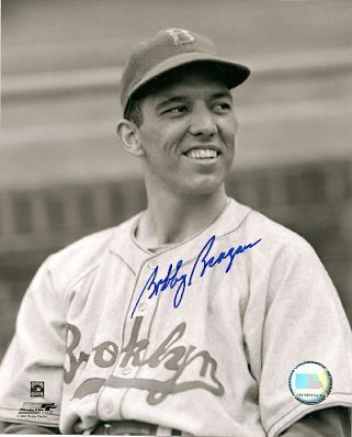 Autographed Bobby Bragan Brooklyn Dodgers Photo