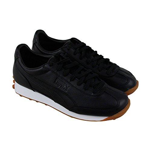 Zapatillas De Deporte Con Cordones En Piel Puma Easy Rider Premium Para Hombre En Color Negro