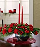 Christmas Flowers - Merry & Bright Centerpiece