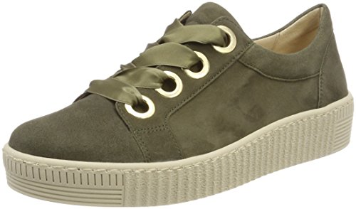 Gabor scarpa Donna 330 casual Professionale Verde sneaker basse 23 Stringata scarpa oliv w0rAw
