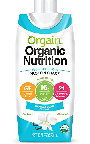 Orgain Organic Nutrition Vanilla Packaging product image