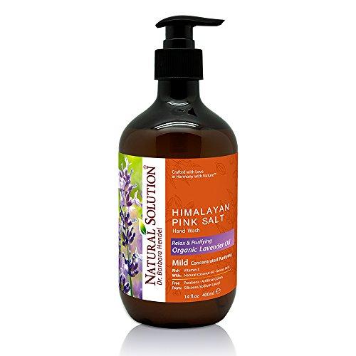 Liquid Hand Soap, Lavender oil and Pink Salt, 14 oz