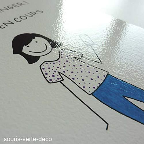 Plaque de porte tik tok avec pr/énom d/éco chambre enfant ado fille personnalis/ée