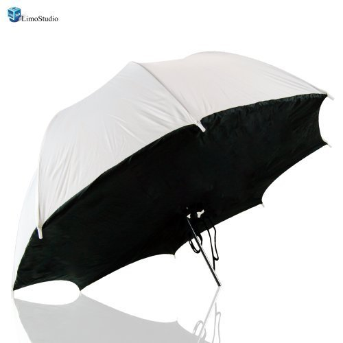"LimoStudio 33"" Photograph Video Studio Reflective Umbrella Softbox Flash Brolly Box, AGG1227"