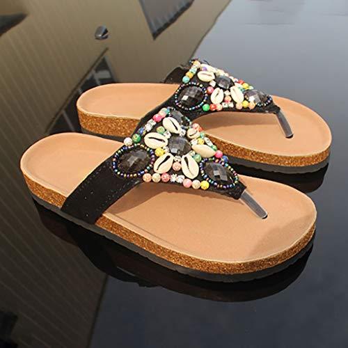 Da Pantofole Sandali Abbigliamento flop Huyp Estivo Spiaggia Flip dimensioni Pinne 37 Antiscivolo Scarpe 8trZ8w