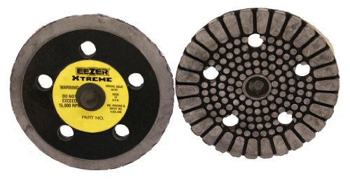 "Price comparison product image Uneeda P-103162 Eezer 5"" x 5 HV Firm Edge 5595V PSA Xtreme Duty Backup Pad"