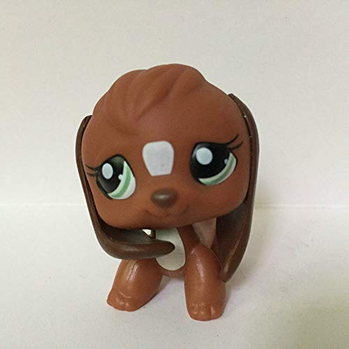 FidgetGear 2'' Beagle Puppy Dog Animals Kids Toys Littlest Pet Shop LPS #S623 Girl Toys (Littlest Pet Shop Beagle Dog)