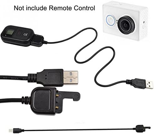 Floratek USB WiFi Remote Control Charging Cable Cord Compatible for GOPRO Hero 3 3 4 Action Camera