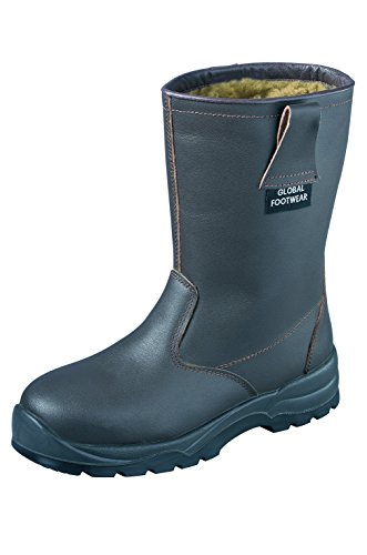 Honeywell Rigger sécurité Chaussures Bottes Chaud Doublure Hiver Chaussures de travail S3, Taille: 46