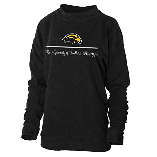 Official NCAA University of Southern Mississippi Golden Eagles Southern Miss Herrington Crew Neck Fleece (Golden Eagles Gear)
