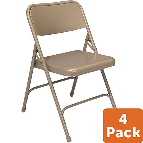 4 Pk. - 200 Series Premium Steel Folding Chair