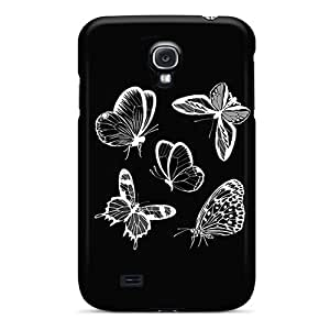 Scratch Resistant Hard Cell-phone Cases For Samsung Galaxy S4 With Unique Design Lifelike Butterfly Pictures JonathanMaedel