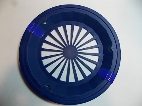 Classic Navy Blue 10-3/8″ Plastic Paper Plate Holders, Set of 4, Health Care Stuffs