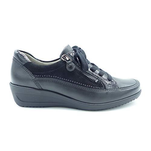Negro Ara Para De Zapatos Cordones Mujer fxf0pX7Rwq