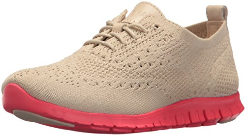 Cole Haan Women's Zerogrand Stitchlite Oxford, Brazilian Sand, 8.5 B US by Cole Haan