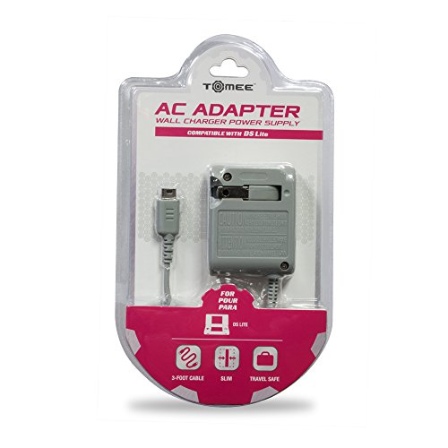 Tomee AC Adapter for DS Lite (Nintendo Lite Charger Ac Ds)