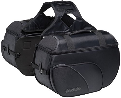 Nylon Box Saddlebag (Tourmaster Nylon Cruiser III Box Saddlebags - Extra Large (24L) 8203-0305-07)