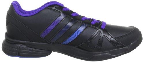 adidas Sumbrah 2 G95812 - Zapatillas de gimnasia de cuero para mujer negro - Schwarz (BLACK 1 / BLAST PURPLE F13 / NIGHT MET. F13)