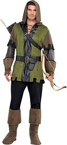 Game Thief Costume (Amscan International Adults Prince of Thieves Costume by Amscan)