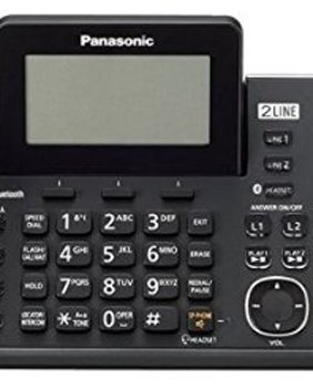 Panasonic KX-TG9582B + 1 KX-TGA950B Corded/Cordless Combination Telephone 2-Line DECT 6.0 System by Panasonic (Image #2)