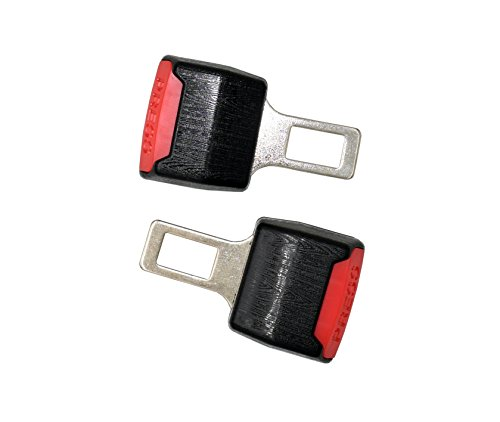 DALAO Universal Auto Seatbelt Clip Car Seatbelt Buckle Gray 2 Pcak - Lock Buckle Belt Seat