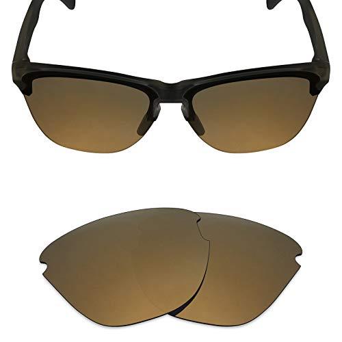 Mryok Polarized Replacement Lenses for Oakley Frogskins Lite - Bronze - Lite Lens Gold