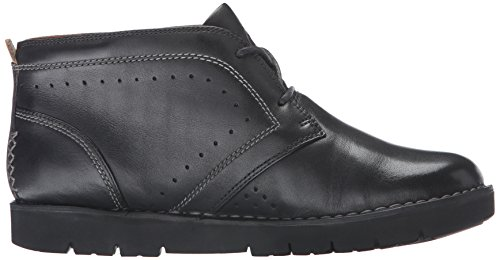 CLARKS Womens Un Astin Boot, Black Leather, 5.5 M US