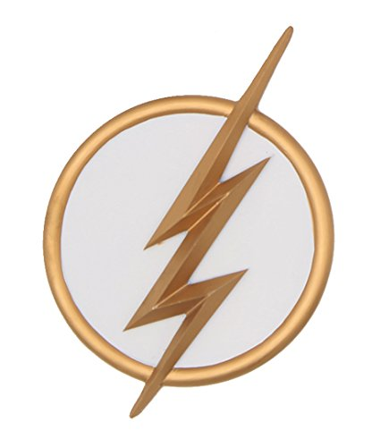 [The Flash Badge Lightning Bolt Logo Red Belt Cosplay Costume Accessory Season 2] (Lightning Bolt Costumes)