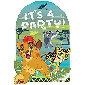 Lion Guard King Simba Jungle Decoration Party Birthday Invitations Invite 24PC