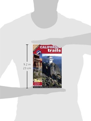 California Trails Northern Sierra Region by Brand: Adler Publishing