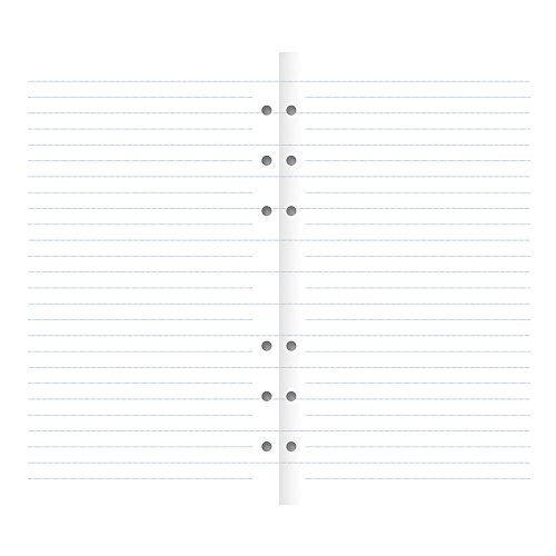 - Filofax Clipbook Ruled Notepaper Refill, Personal (6.75