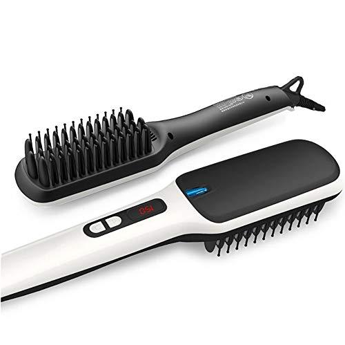 CHERRIESU Negative Ionic Hair Straightening Brush Ceramic Detangling Comb Anion Digitial LED Hair Care, Fast Heating, Anti-Scald Hair Brush 220V by CHERRIESU (Image #8)