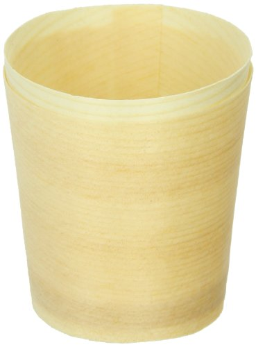 PackNWood 210BBCUP4 Mini Wooden Cup - 1 oz - : 1.5'' H: 1.6'' - 1000 per case by PacknWood