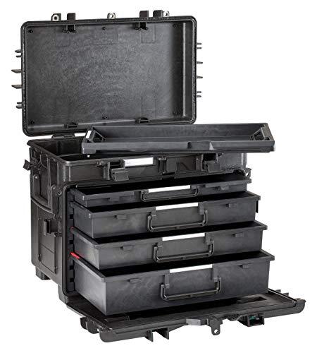 Explorer Cases Explorer Armourer's Trolley Tool Case 5140BKT02, Black, One Size