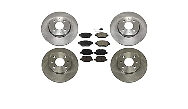 Front+Rear Drill Slot Brake Rotors /& Ceramic Pads For 2012 2013-2016 Fiat 500