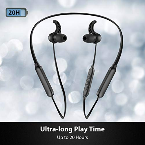 2018 Avantree HT4186 Wireless Neckband Headphones Earbuds For TV Watching & PC With Bluetooth