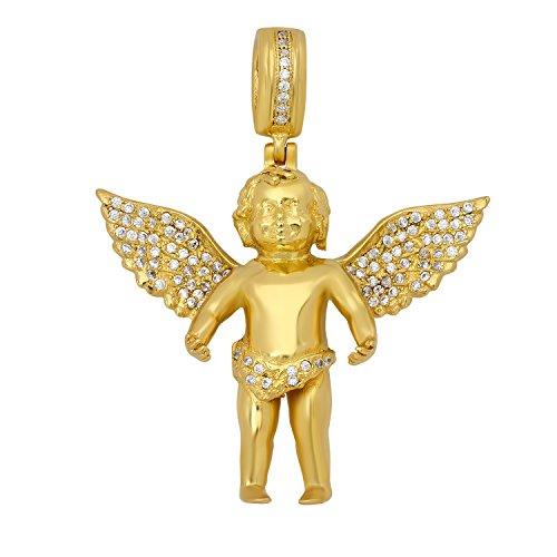 micro angel pendant 24k - 3