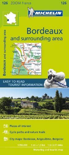 Bordeaux & surrounding areas - Zoom Map 126 (Michelin Zoom Maps)
