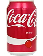 Coca Cola Cherry Soft Drink 330 ml (Pack of 24)