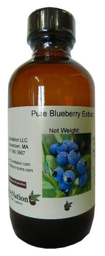 Ounce Blonde Liquid 4 - Pure Blueberry Extract 4 oz, 4 Ounce