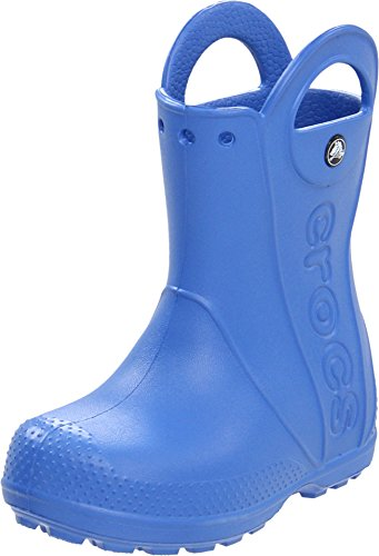 crocs Kids Handle It Rain Boot ,Sea Blue,7 M US Toddler