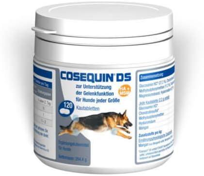 Cosequin DS HA MSM 120 comprimidos deliciosos Perro