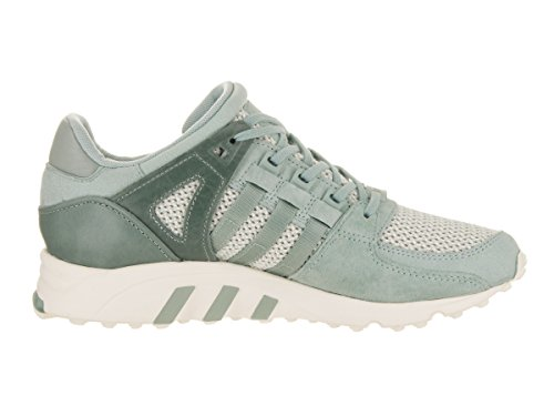 Adidas Eqt Support Scarpa Da Donna Verde Rotonda In Pelle Scamosciata Con Punta Arrotondata Verde Tattile / Verde Chiaro / Bianco