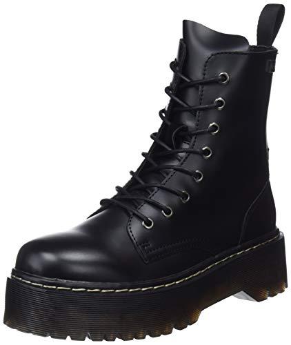 000 Stivali Abby da Nero Combattimento COOLWAY Blk Donna q0FwCx17