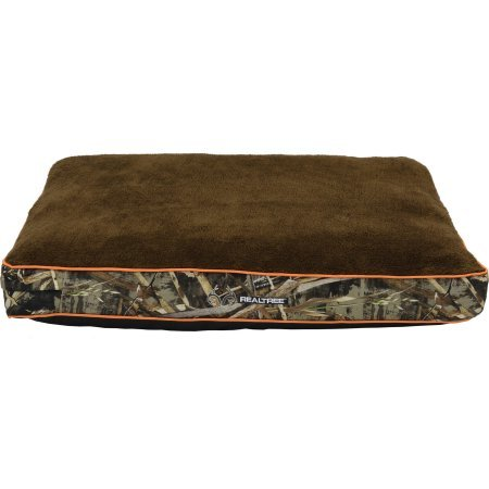 Dmc Polyester (Realtree Gusseted Camo Pet Bed, 30